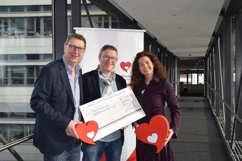 v.l.n.r.: Christoph Mohr (Leiter SWR Landessendermarketing), Christian Doll (Geschäftsführer C2 CONCERTS) und Christina Benz (Herzenssache Botschafterin)